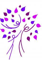 Logo foret violet